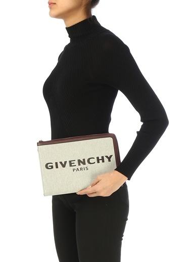 Givenchy Clutch / El Çantası Bordo